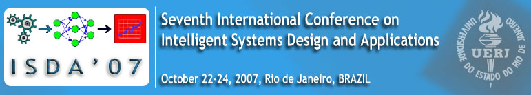 7th International Conference On Intelligent Systems Design And Applications Isda 07